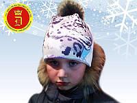 Теплые детские шапочки