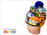 Детские шапки Робокар Поли