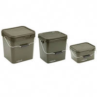 Ведро - система Trakker - OLIVE SQUARE CONTAINERS 13 LITRE