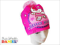 Шапка для девочек Хелоу Кити