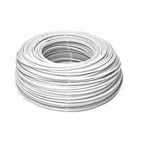 Белый гибкий полиэтиленовый шланг 1/4 Aquafilter KTPE14W