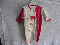 """Человечик для новорожденных """"Мишутка""""р 62-68"""
