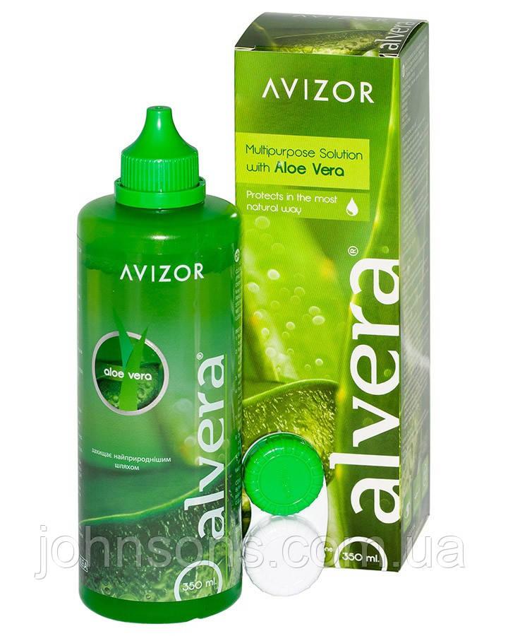 Раствор для линз AlVera 350мл Avizor