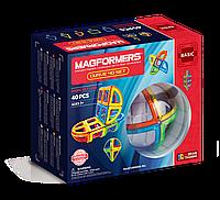 Магнитный конструктор Дуга, 40 элементов, Базовый набор, Magformers