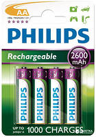Аккумулятор PHILIPS Rechargeable R6 (АА), 2600mAh Ni-MH