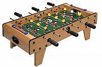 Детская игра футбол 2035: дерево, шкала для ведения счёта, 6 кулис для управления, 69х58х23 см
