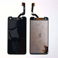 Дисплей для HTC X920d Butterfly + touchscreen. чрный