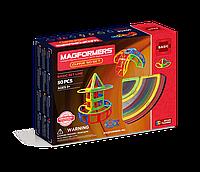 Магнитный конструктор Дуга, 50 элементов, Базовый набор, Magformers