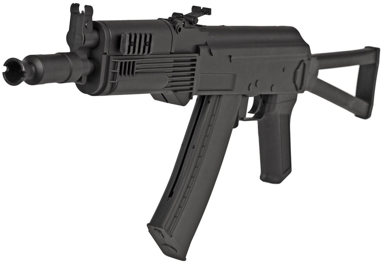 Игрушечный автомат Калашникова АКСУ, лазер, фонарик,качественный , детское оружие, АК47