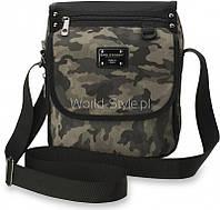 11-15 Серая камуфляжная мужская сумка через плечо Vinamra