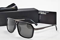 Солнцезащитные очки квадратные Porsche Design черные