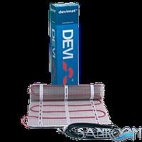 DEVImat DTIR-150 МАТ двухжильный  Д.- 1м,  Пл.- 0,5м2,  М.-69 Вт