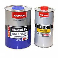 NOVOL Бесцветный акриловый лак NOVAKRYL HS 2+1 1,0л