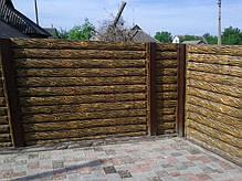 """Еврозабор """"Бревна"""" , фото 2"""