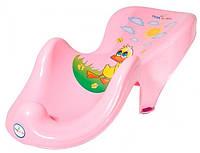 Горка для купания ребёнка Balbinka Tega Baby, розовая