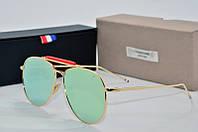 Солнцезащитные очки Thom Browne желтые