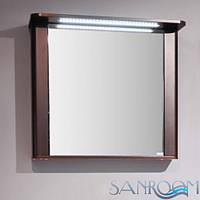Fancy Marble Carla 800 Шкафчик зеркальный с подсветкой. Венге