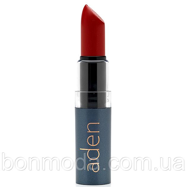 "Aden помада увлажняющая Hydrating lipstick ""Russian Red"" № 25"