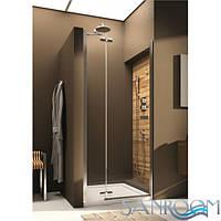 Aquaform VERRA LINE 103-09402 Душевая дверь в нишу распашная левая 100 Хром/Прозрачный