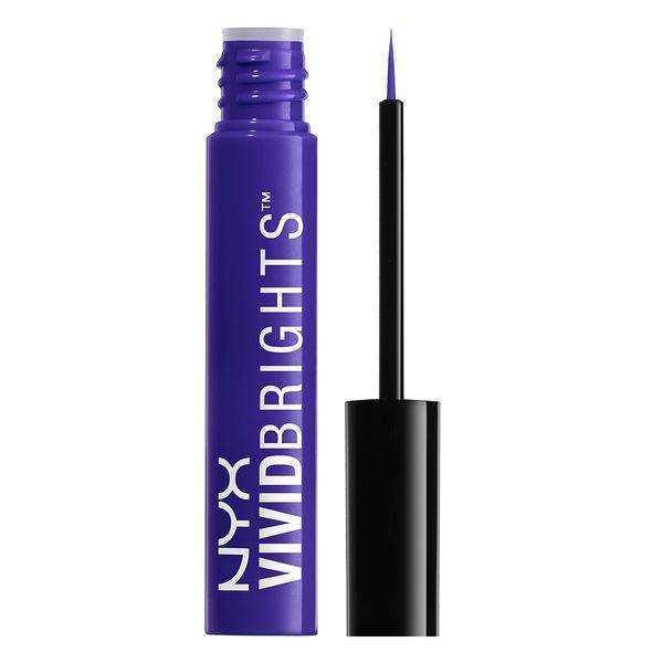 NYX VBL 02 Vivid Brights Liner Violet - Яркая подводка для глаз, 2 мл