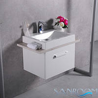 Fancy Marble Santa Cruz 800 Шкафчик навесной с раковиной Вяз Одеон