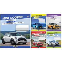 Тетрадь ученическая А5/24 кл. Mini Cooper Lifestyle -16