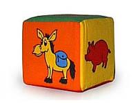 """Кубик- погремушка """"Животные"""" Умная игрушка"""