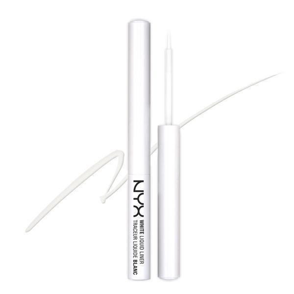 NYX WLL 01 White Liquid Liner - Жидкая подводка для глаз, 2.2 мл