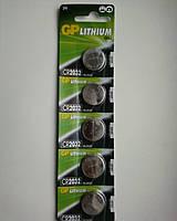Батарейка таблетка для напольных электронных весов GP Lithium Cell CR2032, DL2032, 3V - 1 батарейка.