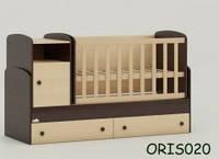 Детская кроватка – трансформер Oris Marica, цвет комбинированный