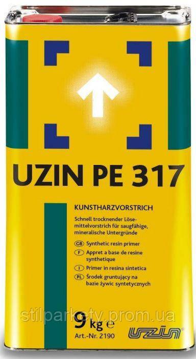 Uzin PE 317: грунтовка на растворителях для оснований под паркетные полы (Германия)