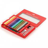 Цветные карандаши 48 цв. классик металл.коробка+аксессуары.арт.115888.