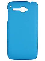 Чехол накладка для Alcatel XPOP 5035 / 5035D голубой