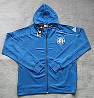 Олимпийка мужская с капюшоном Adidas Hoodie Adidas Chelsea F.C. 2016-17