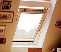 Мансардное окно VELUX GZL деревянное окно с центральной осью открывания