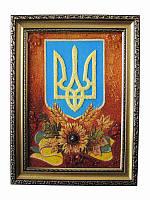 Картина из янтаря Герб (Картины и иконы из янтаря)