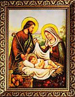 Икона из янтаря Маленький Иисус (Картины и иконы из янтаря)