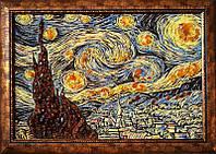 Картина из янтаря Звездная ночь (Картины и иконы из янтаря)