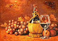 Картина из янтаря Вино (Картины и иконы из янтаря)