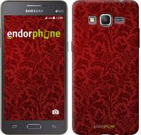 "Чехол на Samsung Galaxy Grand Prime G530H Чехол цвета бордо ""2659c-74"""