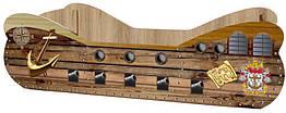 Кровать детская ДСП Корабль Viorina-Deko Стандартная