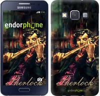 """Чехол на Samsung Galaxy A3 A300H Шерлок """"438c-72"""""""