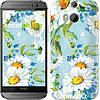 "Чехол на HTC One M8 dual sim Ромашки ""2233c-55"""