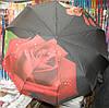 Зонт женский  Роза 3D 3371
