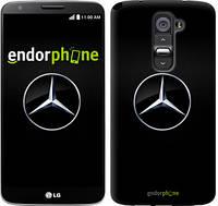 "Чехол на LG G2 Mercedes Benz 1 ""974c-37"""