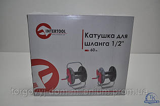 Катушка для шланга на колесах 1/2 60м. InterTool GE-3004