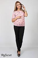 Юла Мама Брюки для беременных Юла Мама Vogue light арт. TR-17.011 черные