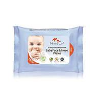 Mommy Care Детские влажные назальные салфетки для младенцев Mommy Care органические
