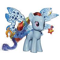 Игровой набор Hasbro My Little Pony Пони Делюкс с волшебными крыльями Rainbow Dash (B0358&B0671)
