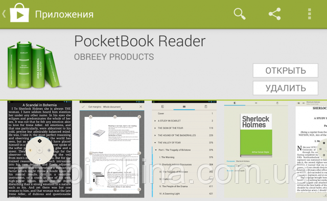 pocket book reader